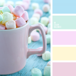 The pastel colors became the main trend of this summer